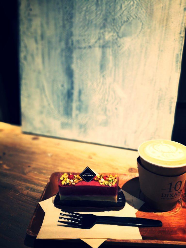ディゾン カフェオレ グリオットチェリーのムース