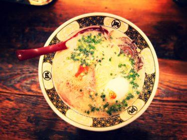 ラーメン凪 大宮東口店 豚王の麺硬め煮玉子トッピング