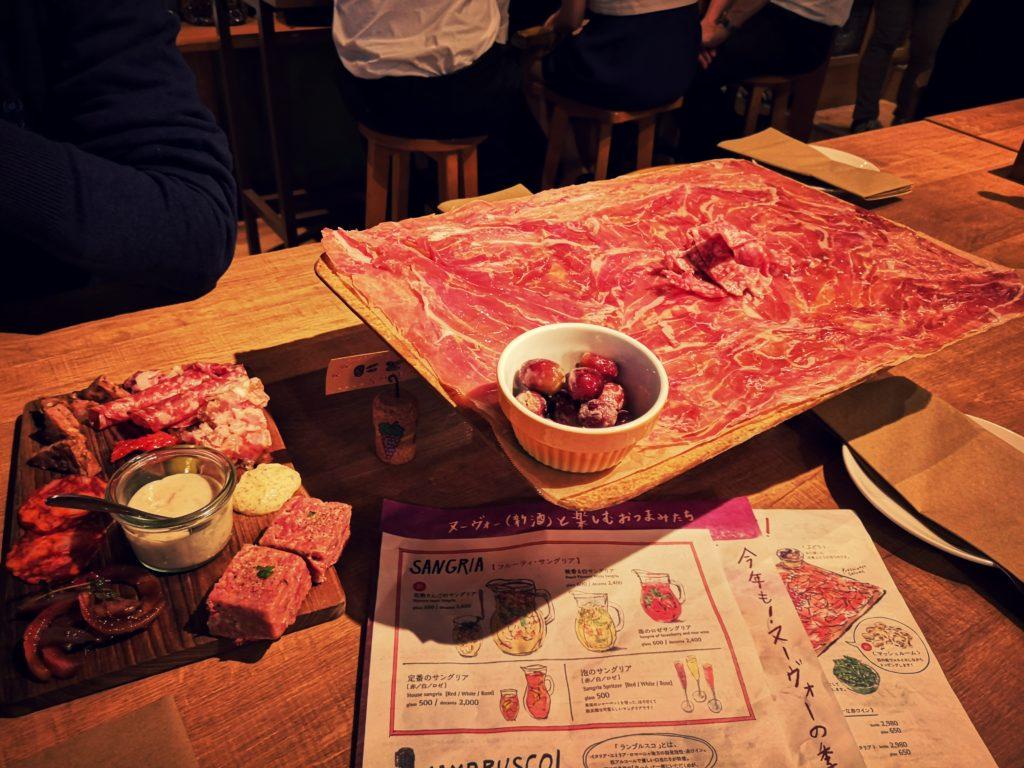 ディプント お肉屋さんのシャルキュトリー盛り合わせ