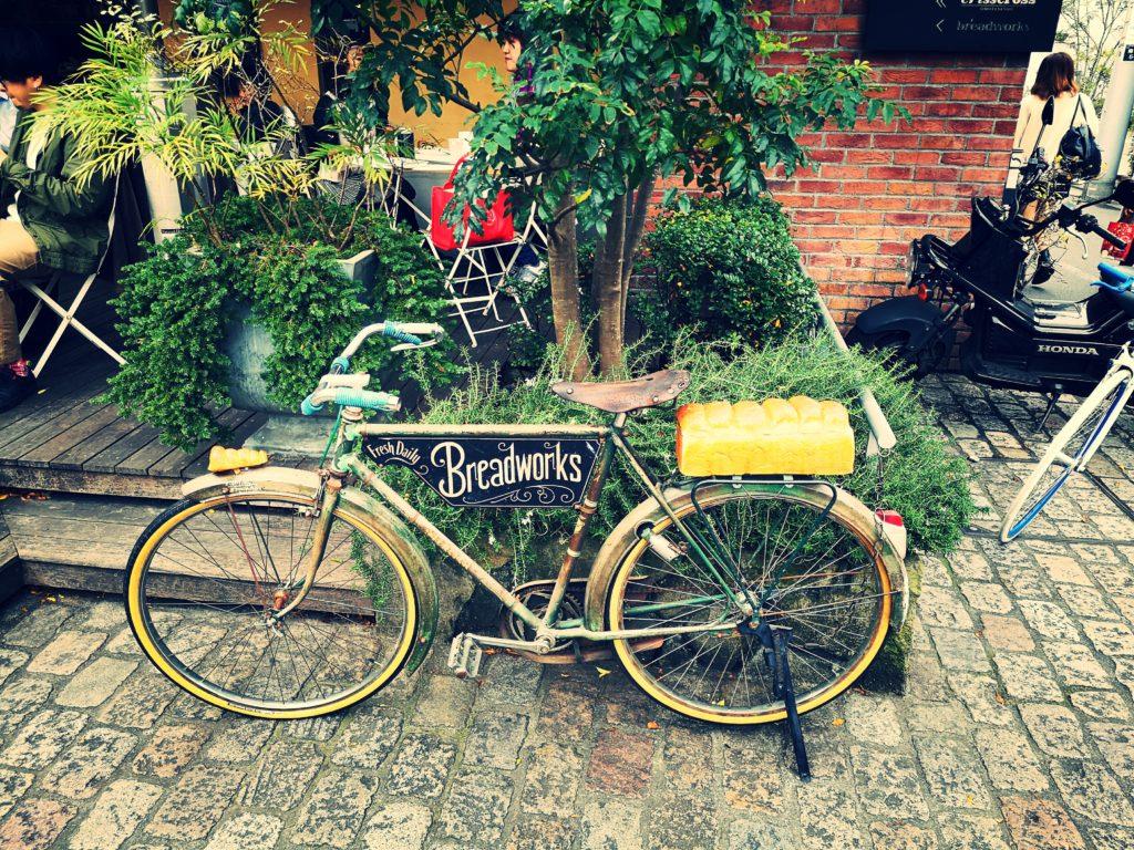 クリスクリス 自転車