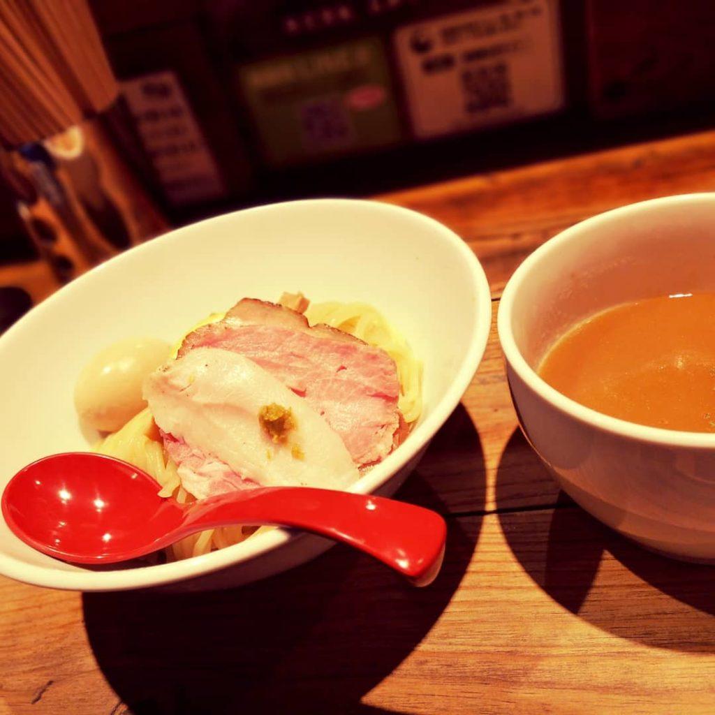濃厚つけ麺 鶏白湯スープ 麵屋翔
