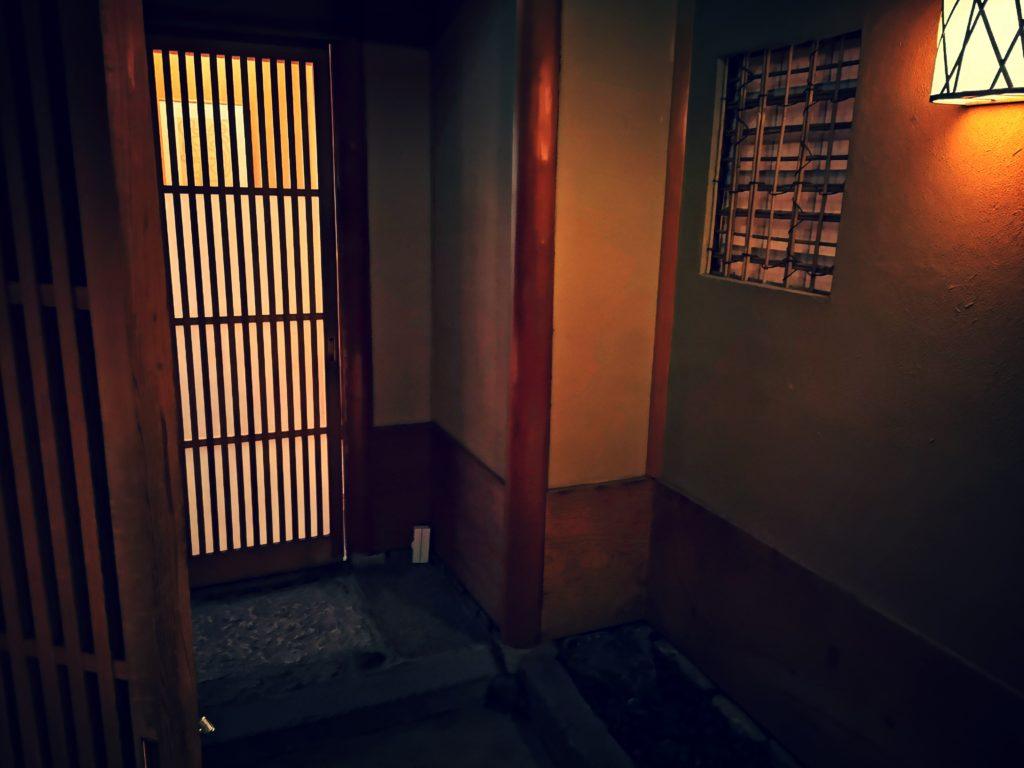 鎌倉 松原庵 欅 入口
