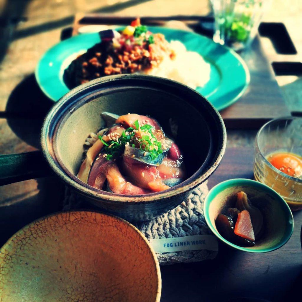 カフェ oniwa 土鍋ごはんセット