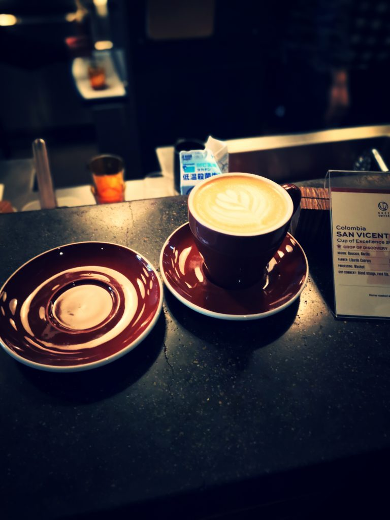 THE ROASTERY カフェラテ