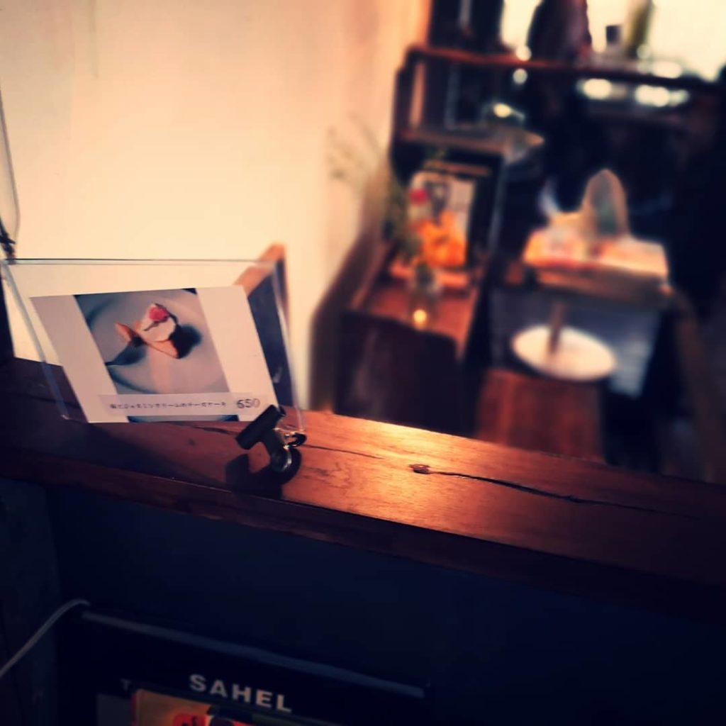 granary's coffee stand 内観 インテリア