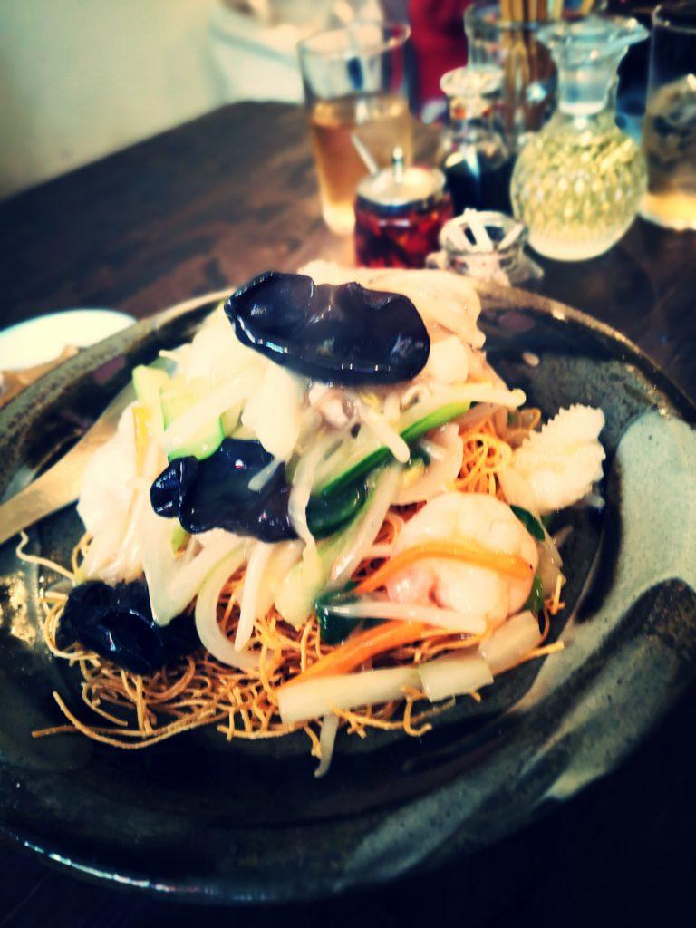 オトノハ 五目あんかけ焼麺